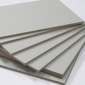 1200gsm 2mm 2.5mm thickness uncoated cardboard paper sheets grey board paper for gift boxes