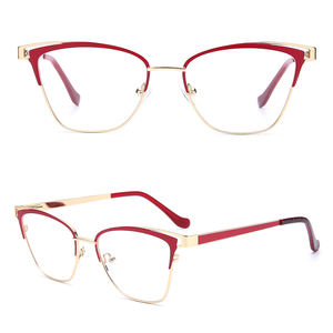 3787 oem odm available new design metal fashion eyeglass