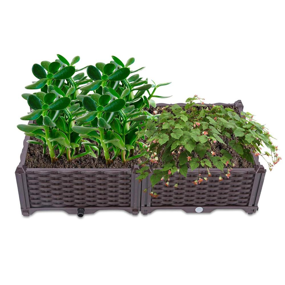 <span class=keywords><strong>Tuin</strong></span> Gebouw Outdoor Plastic Custom Grote Groene Huis Verhoogde <span class=keywords><strong>Tuin</strong></span> Bed Opvouwbare Planter Box