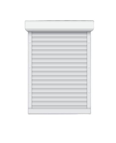 Adjustable Aluminium Accordion Hurricane Louvered Sliding Window Rolling Shutter