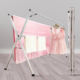 Clothes Rack Standing For Cloth In Room Without installation Stainless Steel Hanger Stand