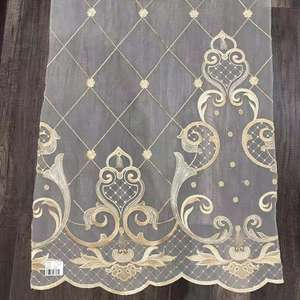 XXC cheap Turkish embroidery designs for curtains