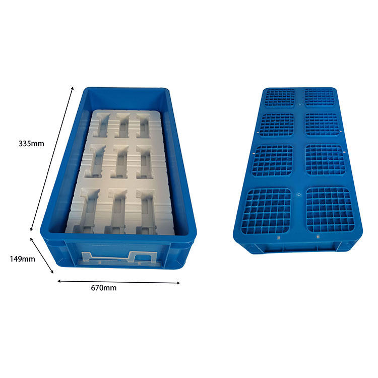 Orange Turnover Box Industrial Plastic Storage Crate Plastic Crates For Dishes Bread Crate