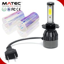 Tri-color 3/6/8K universal high beam low beam H11 HB3 HB4 H16 H27 replace halogen xenon auto parts car headlight