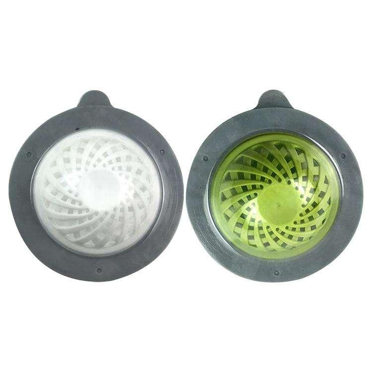 Cubierta de Filtro de Drenaje de Piso de Silicona Anti Olor Tapa de colador de Fregadero Cuadrado Cocina Ba/ño Tap/ón de Agua Desodorante Cubierta