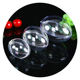 Christmas ornaments round disc clear small plastic balls container