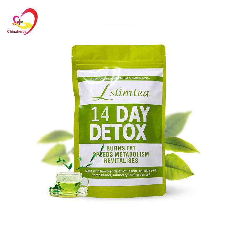 OEM Private Label Tea 14 and 28 Day Slimming Tea Cleanse Diet Detox Body