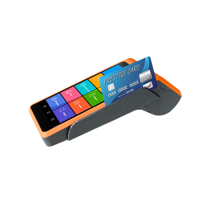 Justtide V7 OS android GSM Type houvast POS Terminal voor verkoopt