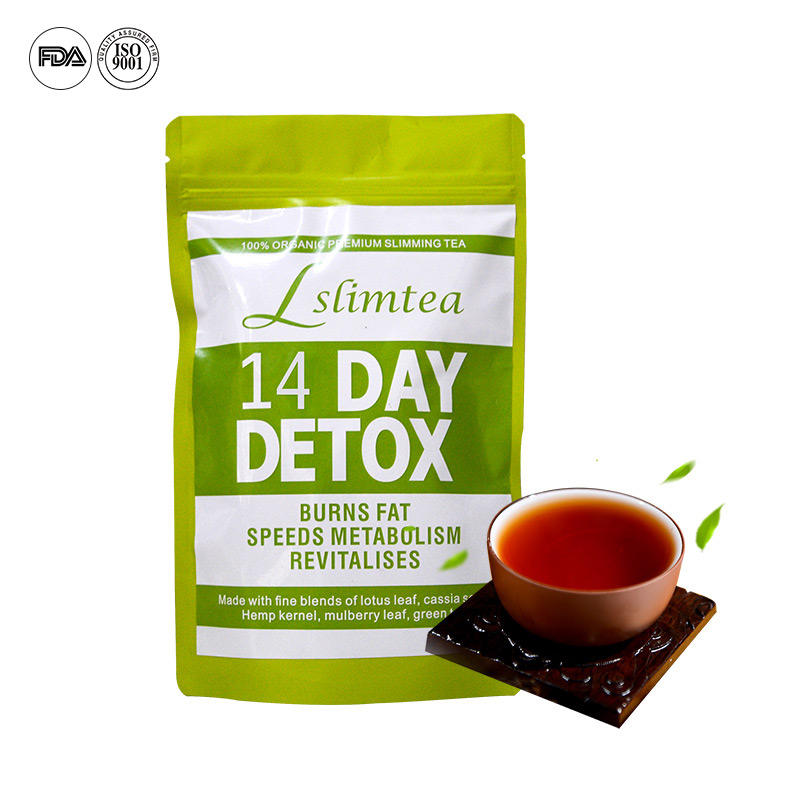 Private Label 14 Day 28 Day Fitness Herbs FDA Approved Slimming Tea Detox Slim Tea Teatox