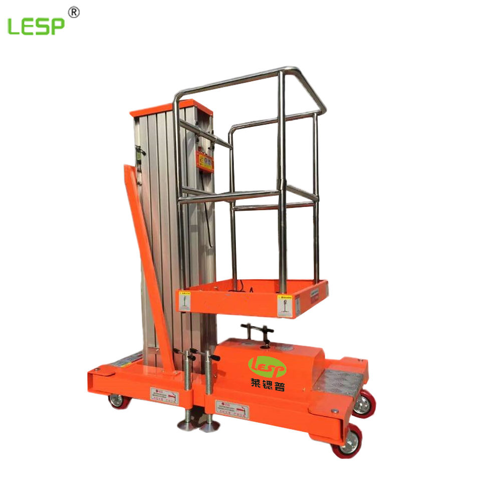 High Quality Personnel Lift Aerial Working Platform Mobile Lift Tables Automatic Aluminum Work Platform