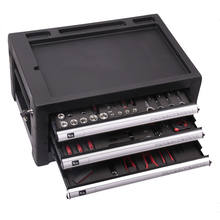 hardware aluminum tool set cabinet with tools