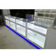 Focus Custom Made Phone Showcase Mobile Display Cabinet Glass Mobile Shop Counter Design