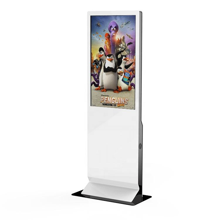 43'' Exhibition digital signage vertical indoor LCD interactive IR touch screen kiosk advertising display