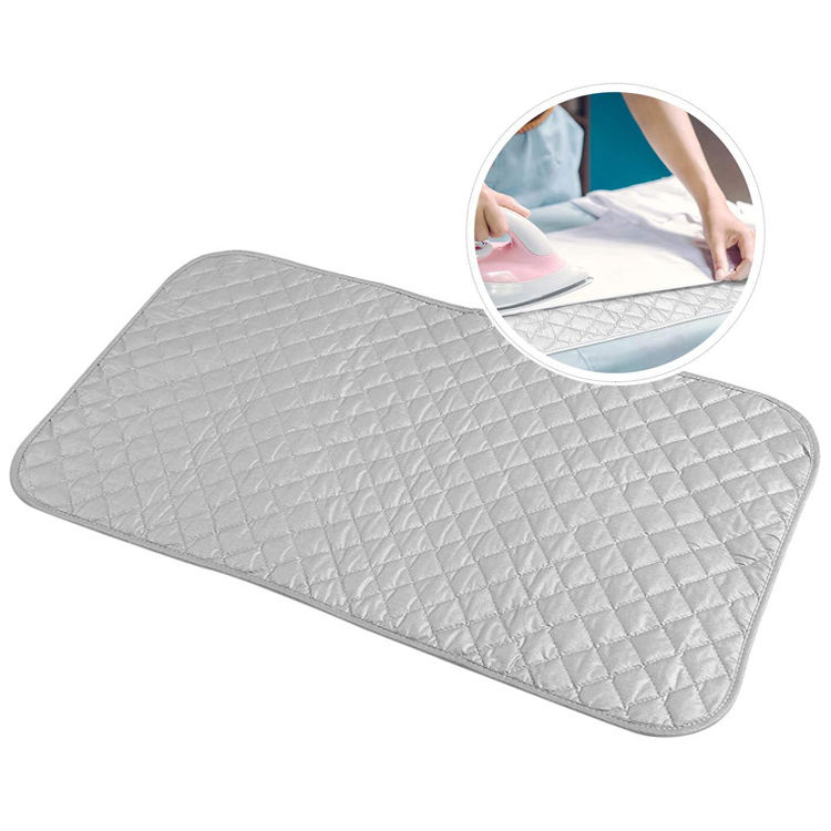 Custom Quilted Iron Board Cover Ironing Blanket Mat Ironing Pad Protector