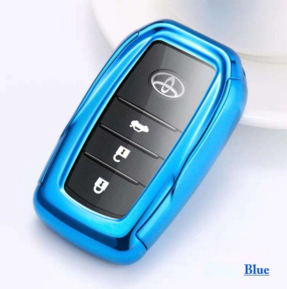 TPU Car Key wallets Case for Toyota Levin Crown Highlander Camry Fob Remote Key