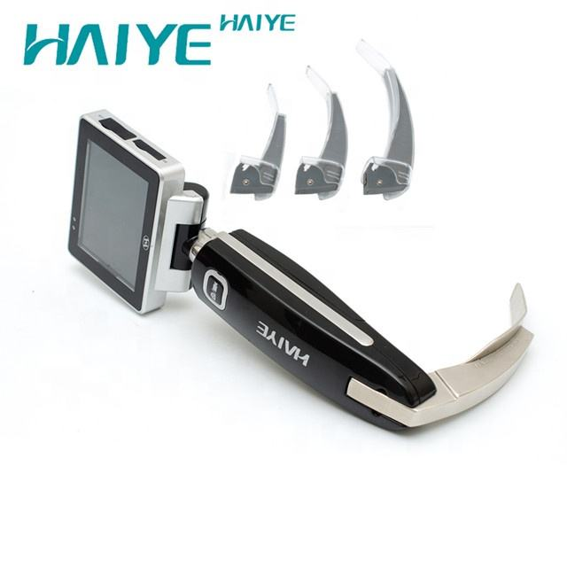 Disposable laryngoscope blade diffficult airway intubation Optical Equipment Breathing video laryngoscope