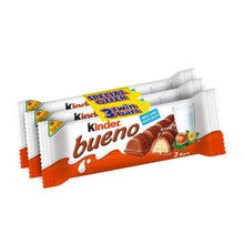 New arrival Colorful bueno 3 pack chocolate bar