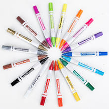 Wholesales Multi Colors Metallic Water-Based Paint Marker Pens Acrylic Paint Mark