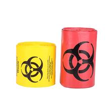Good quality custom size Plastic Disposable Biohazard Medical Waste Bag