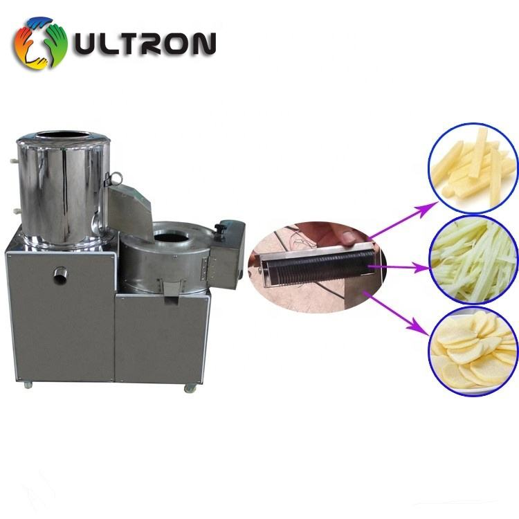 electric vegetable potato radish cutter slicer peeler washing machine vegetable peeler slicer stainless steel