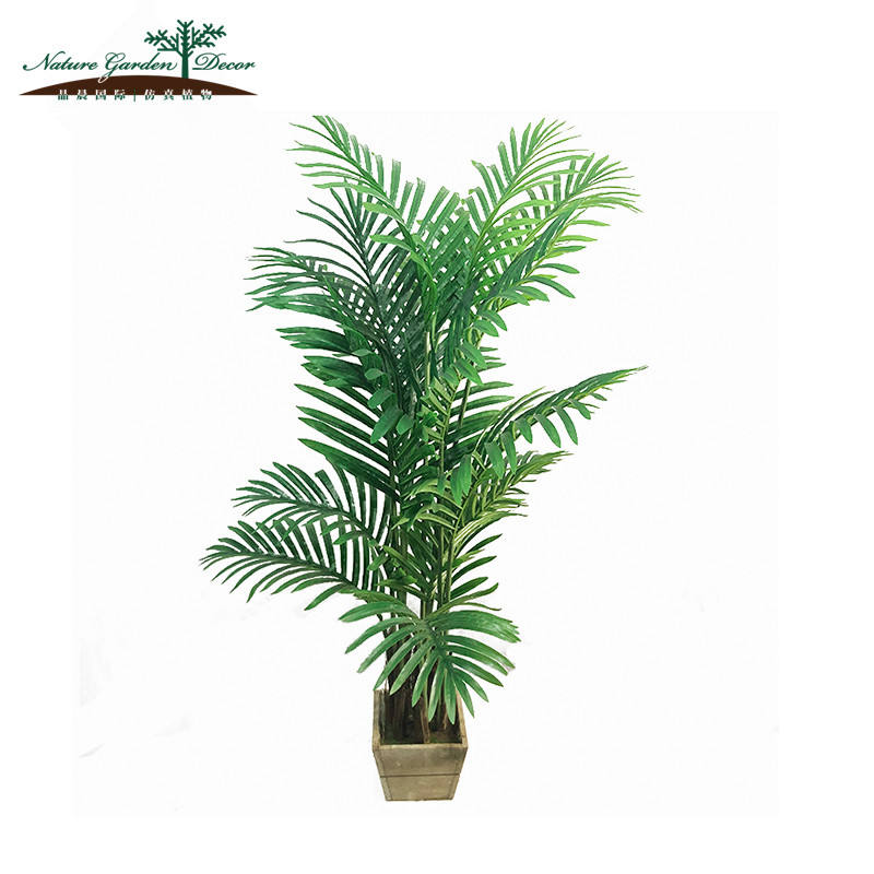 Mode Export Groene Plant Kunstmatige Outdoor Palm Bomen