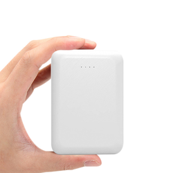 pocket mini power bank in hand 10000mah