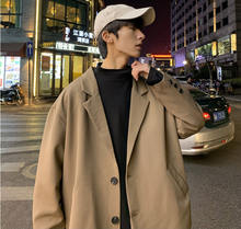 Spring 2020 ultra-hot retro blazer men's trend goes with jacket coat