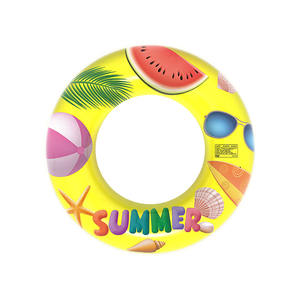 2020 Hot Selling Summer Fun Beach Party Water Sports Pool Floats Tube Adult Kids Children PVC Swimming Rings inflatable swimming