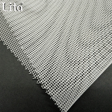 200m per roll 50D/68D polyester square mesh fabric netting for Agricultural net & Hot melt adhesive interlin