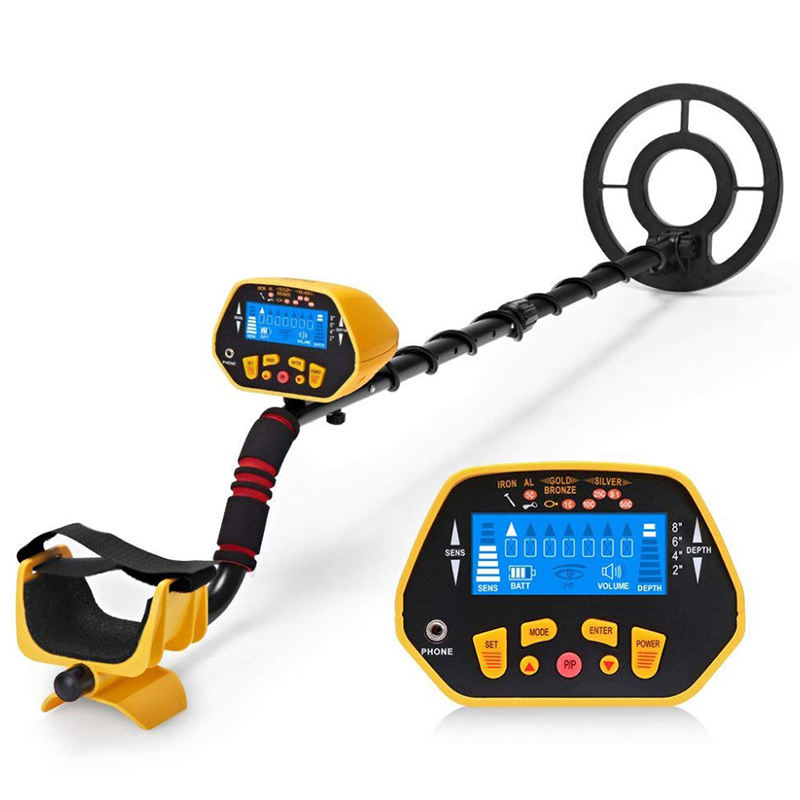 GC1028 Professional Underground Metal Detector Gold Detector Searcher Metal Circuit Detector Adjustable Pole