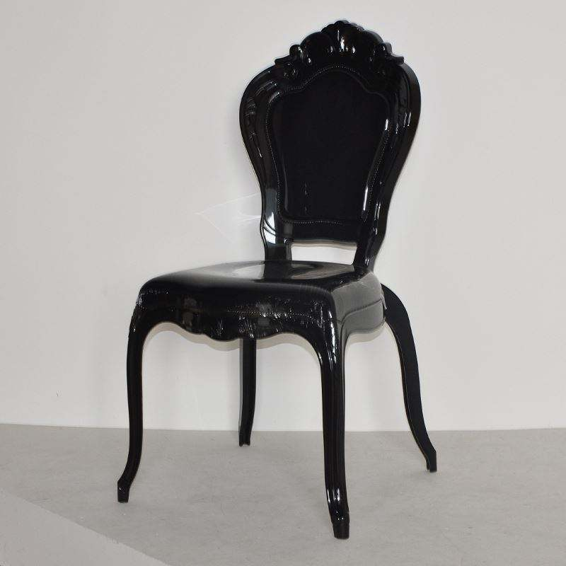 Rental Wedding Plastic Dining Chair back chair for Dining Room