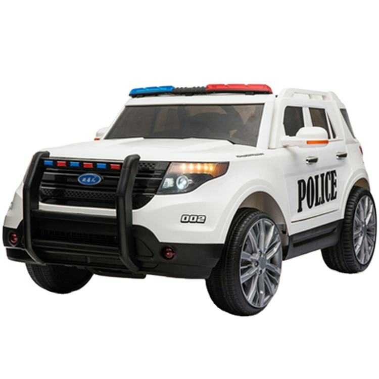 Newest Cool Kids Police Car Kids Electric Car for Boy and Girl Gift Kids big vehicle