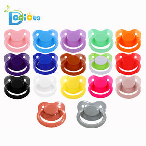 30 Colors ABDL Adult Baby Pacifier Feeding Big Size Teat Dummy In Bulk