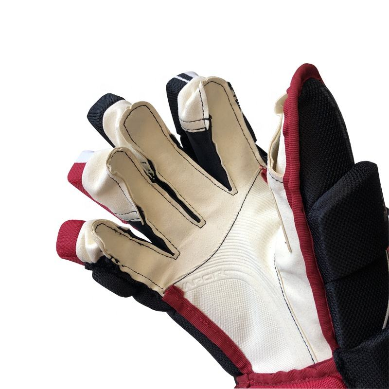 Hot sale professional 100% carbon high quality ice hockey stick glove ice hockey glove