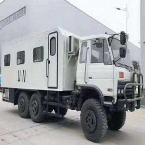 DONGFENG 6x6 UN Army Troops Camping Car Kitchen Truck Boarding Truck 6*6 Military AWD Off Road Trucks Manufacturer