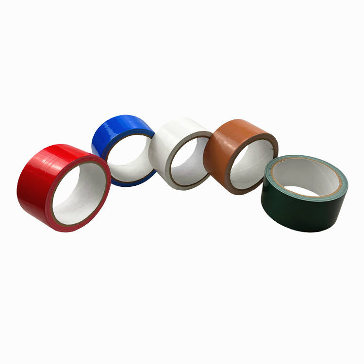 Sterke <span class=keywords><strong>Kleverige</strong></span> Voor Auto-Machines Geel Duct Tape Dubbelzijdig Doek Tape Gaffer Tape