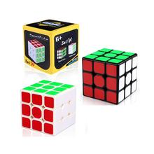 Puzzles Toys QIYI Cube 3 Stage Magic Speed Cube Toys For Adult and Kids