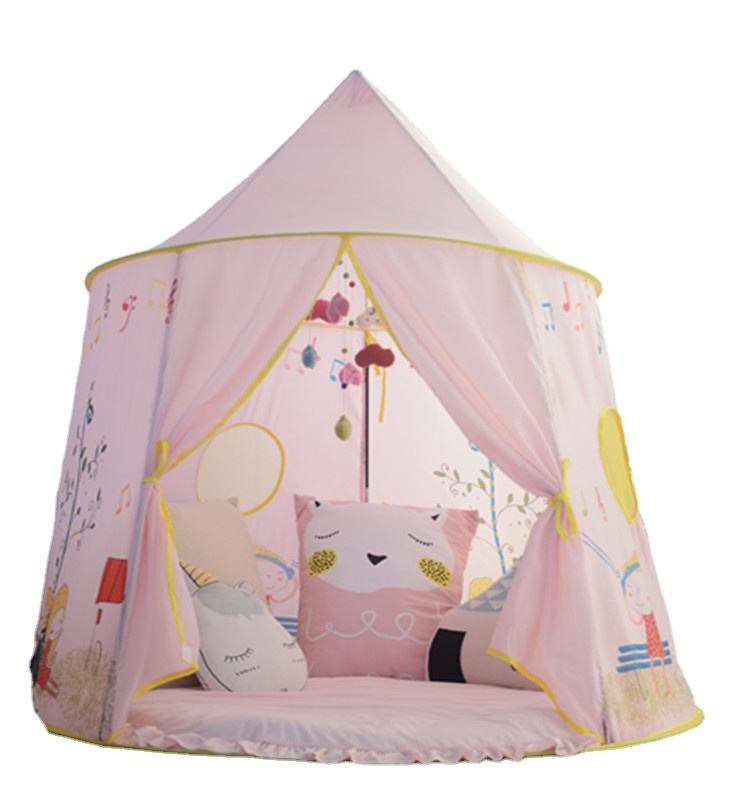 Princess tent large castle playhouse for chidiren games kids tent