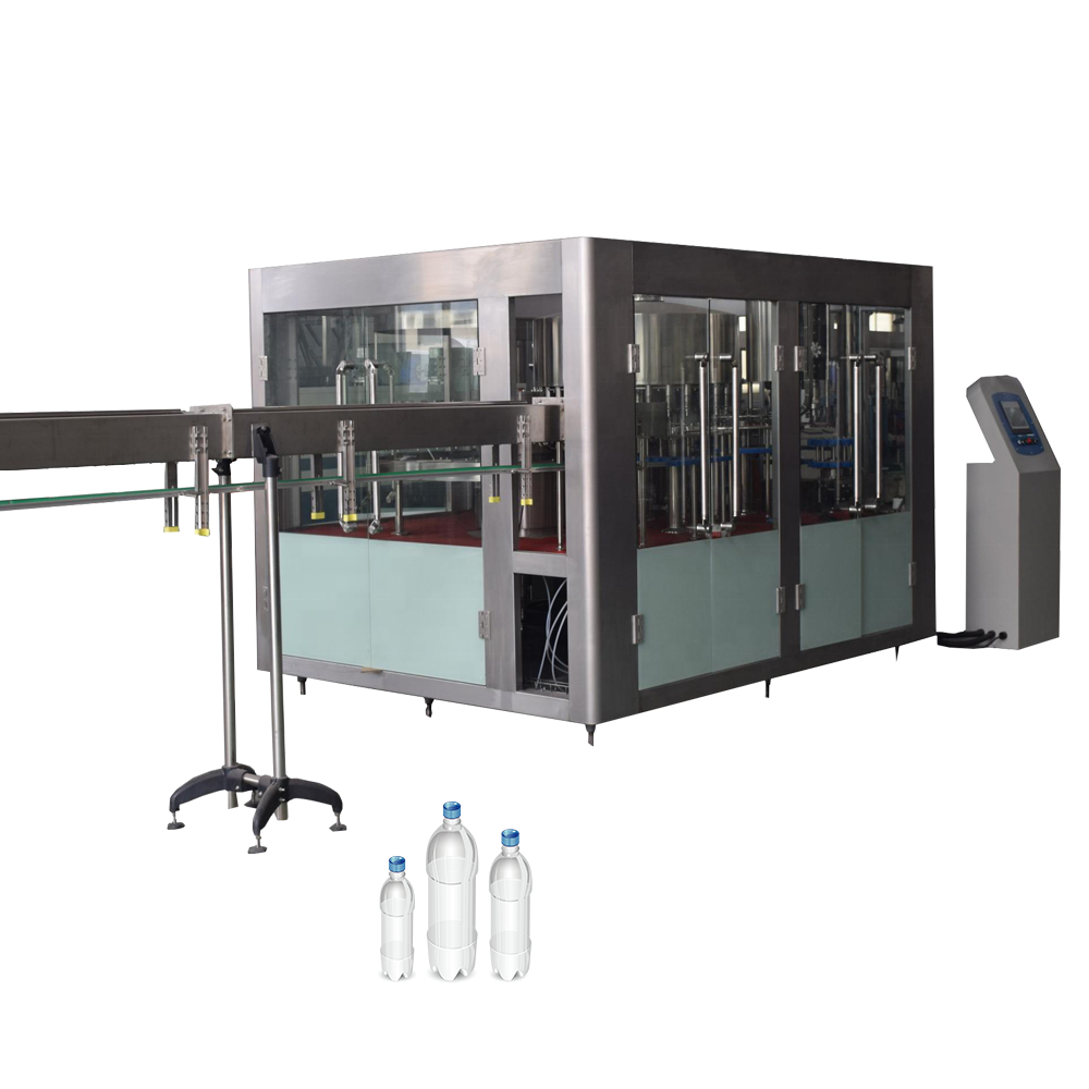 Automatic mineral water filling machine 3 in 1 monoblock water bottling machine equipment PET bottle liquid filling machine