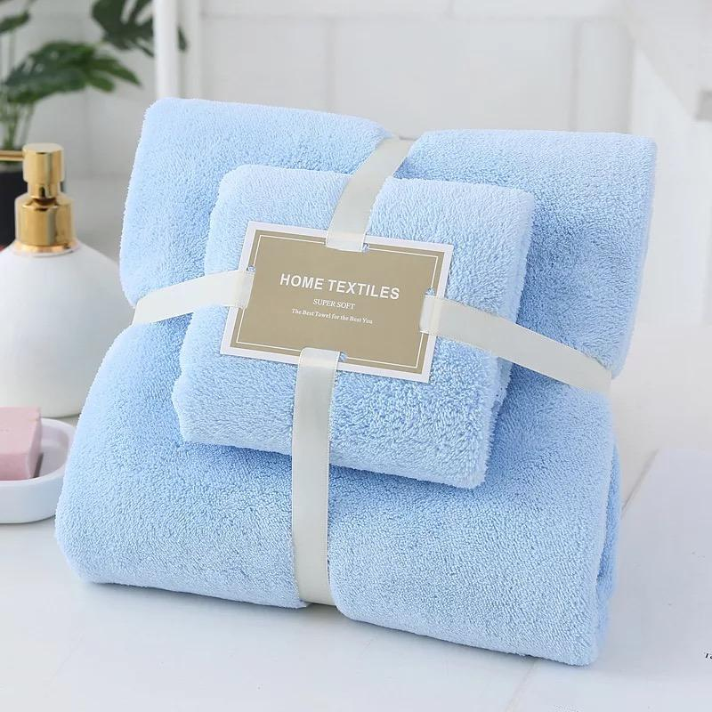 High Quality High Density Coral Absorbent Towel Coralline Set