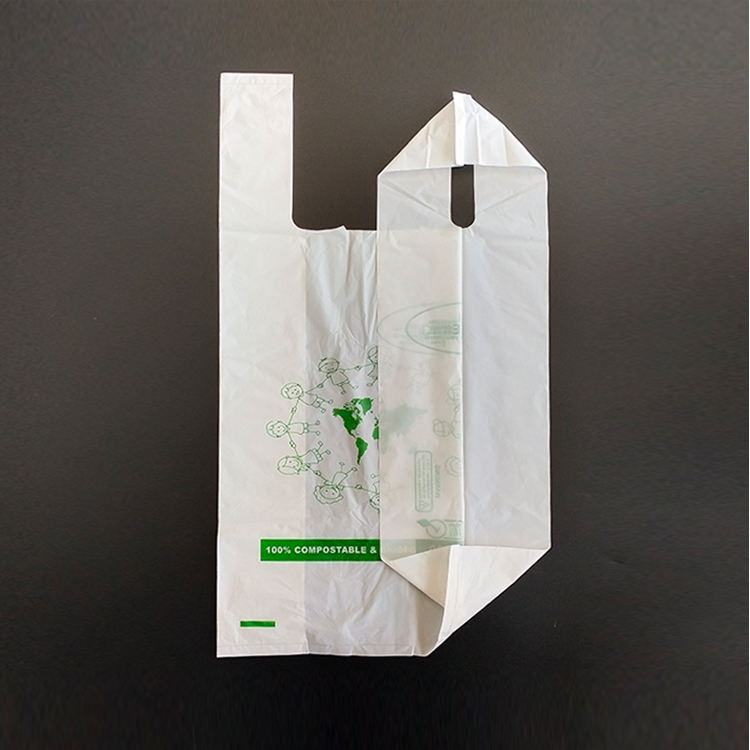 EGP T-shirt 100% biodegradable garbage bag plastic bag