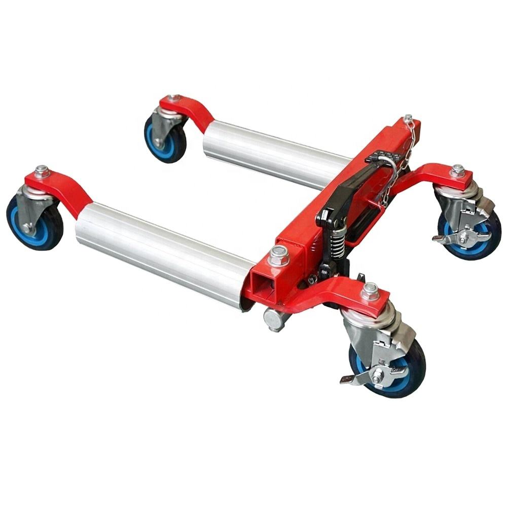Hydraulic Vehicle Dolly Set Portable Car Lift Tire Changer Jack Wheel Dolly