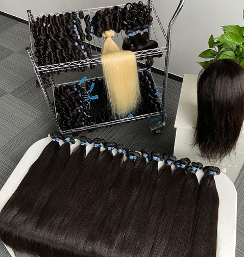 Smooth product from indian human hair waste balls hyderabad, wholesale model model hair extension in hyderabad