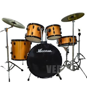 Good Design Musical Professional Complete Percussion Basic Full Size Learning Drum Set