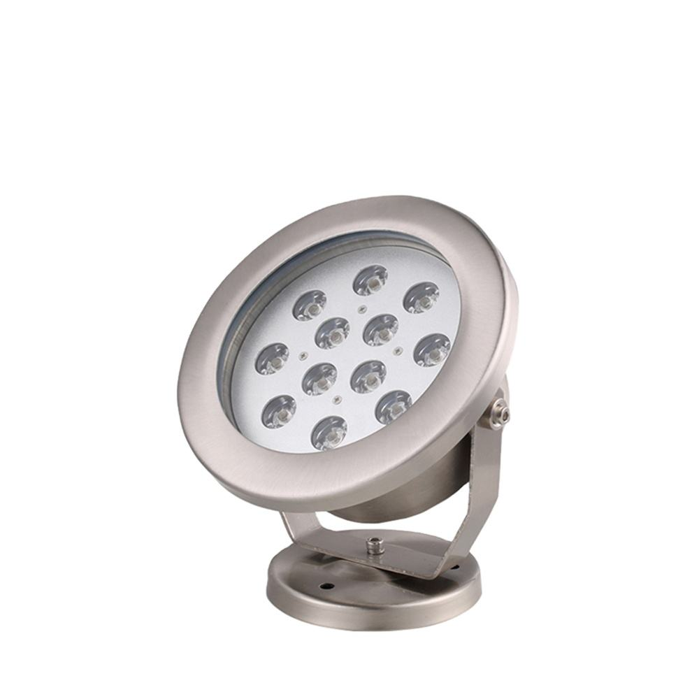 Waterproof dmx control 3w 6w 9w 12w 18w 36w led underwater fountain light factory Outlet led swimming pool light