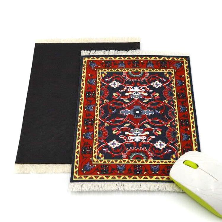 high quality persian rug printed mouse pad