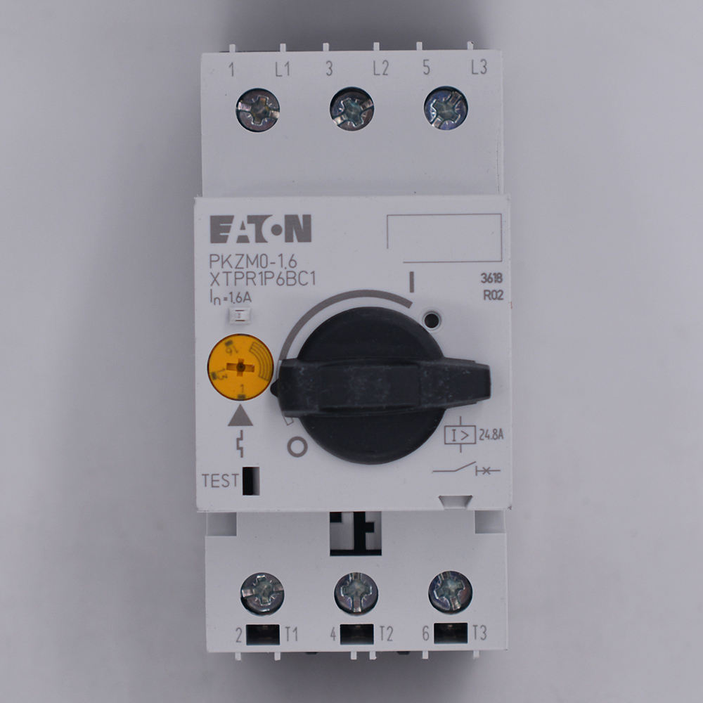electronic circuit breaker PKZM0-1.6 72735 Motor protection circuit breaker MPCB