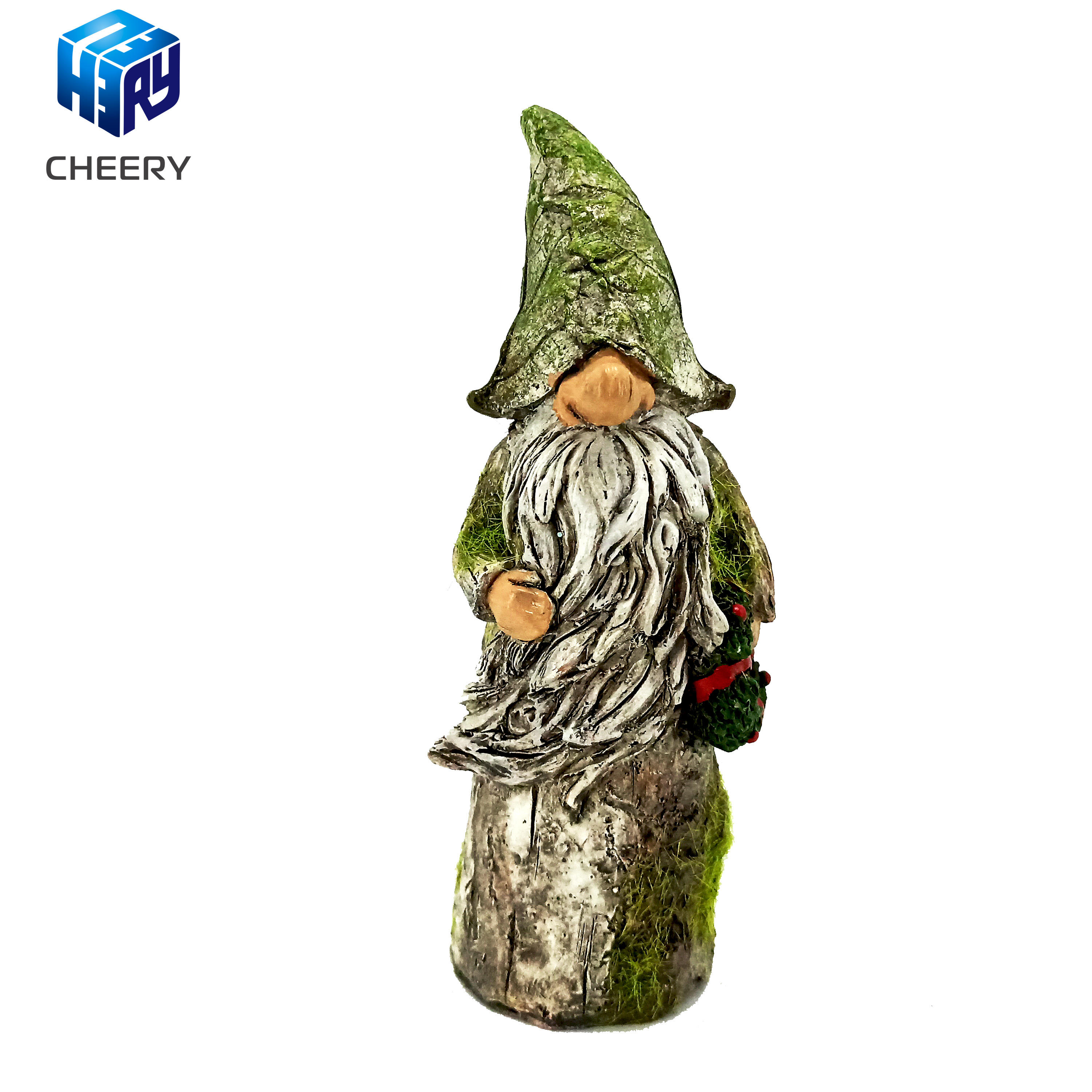 2020 New Popular Design Clear Epoxy Resin Garden Gnome Statue in Quanzhou Factory