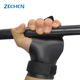 3 holes weight lifting gloves Cross fit carbon leather gymnastics hand grips