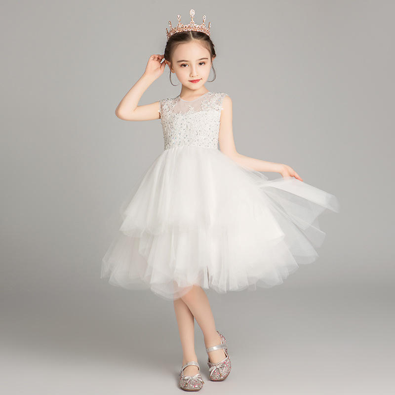 Latest Trendy Design dresses wear Worth Buying ball gown for girls party dress kids